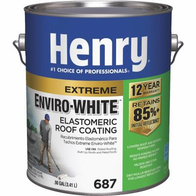 Henry Enviro-White 1 Gal. Acrylic Elastomeric Roof Coating