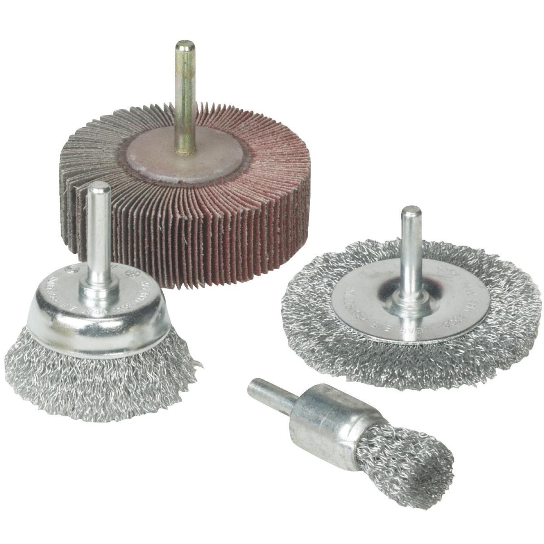 Weiler Vortec 4 pcs Abrasive Wheel & Brush Set Image 1