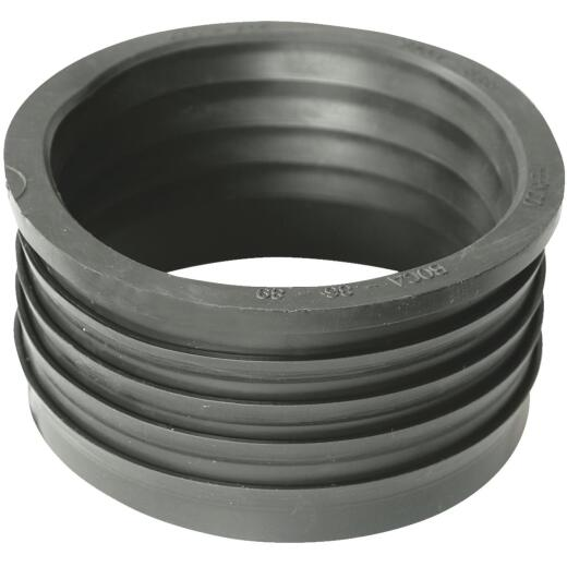 Fernco DWV 4 In. x 4 In. Sewer and Drain PVC Iron Pipe Hub Adapter