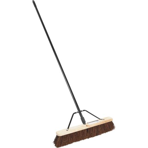 Harper 24 In. W. x 64 In. L. Metal Handle Rough Surface Push Broom