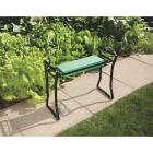 Best Garden Green Foam Pad w/Black Steel Frame Garden Kneeler Bench Image 6