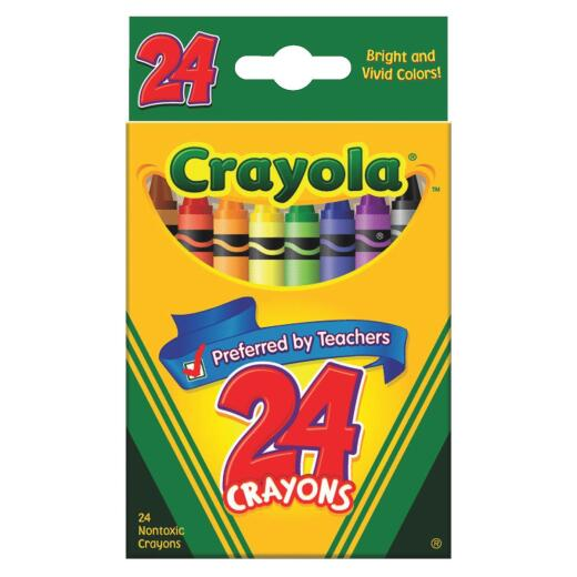 Crayola Traditional Crayons (24-Pack)